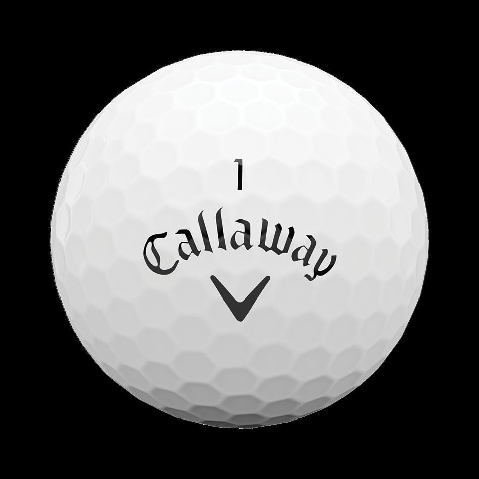 Superhot White 15-Pack Logo Golf Balls - View 3