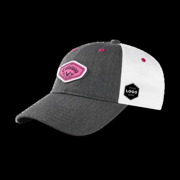 Women's Heathered Logo Cap - View 1