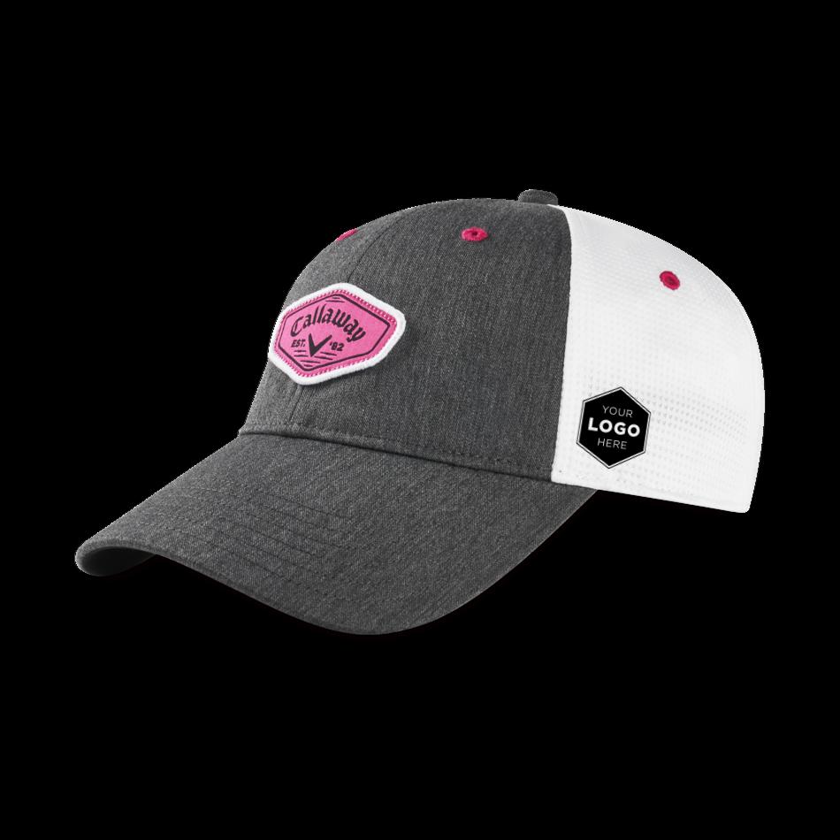 Women's Heathered Logo Cap - Featured