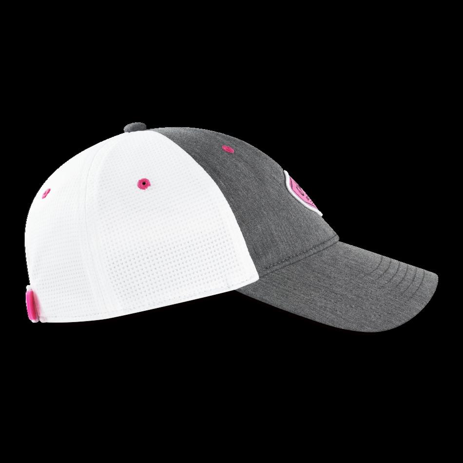 Women's Heathered Logo Cap - View 4