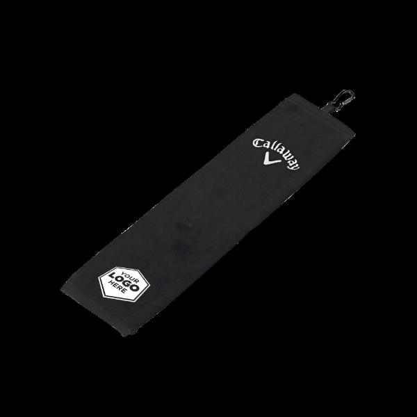 Tri-Fold Logo Towel - View 1
