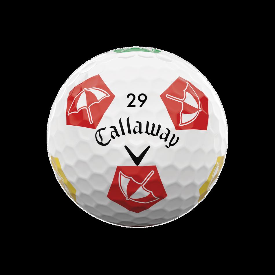 Limited Edition Chrome Soft Truvis Arnold Palmer Umbrella Golf Balls - View 4