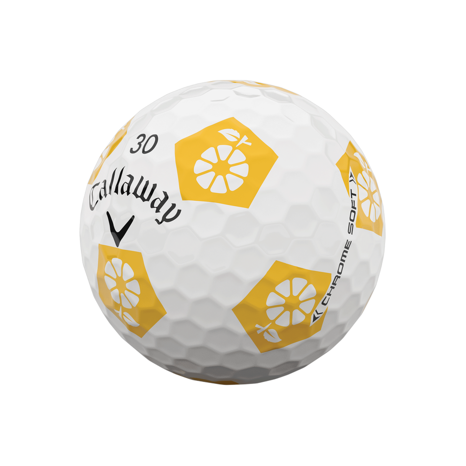 Limited Edition Chrome Soft Truvis Eat. Learn. Play. Golf Balls - View 4