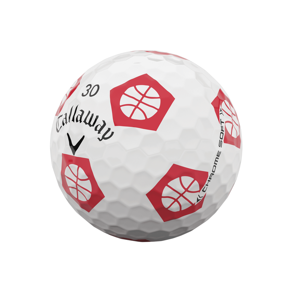 Limited Edition Chrome Soft Truvis Eat. Learn. Play. Golf Balls - View 6
