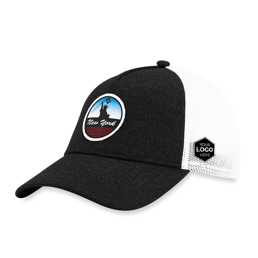 New York Trucker Logo Cap - View 1
