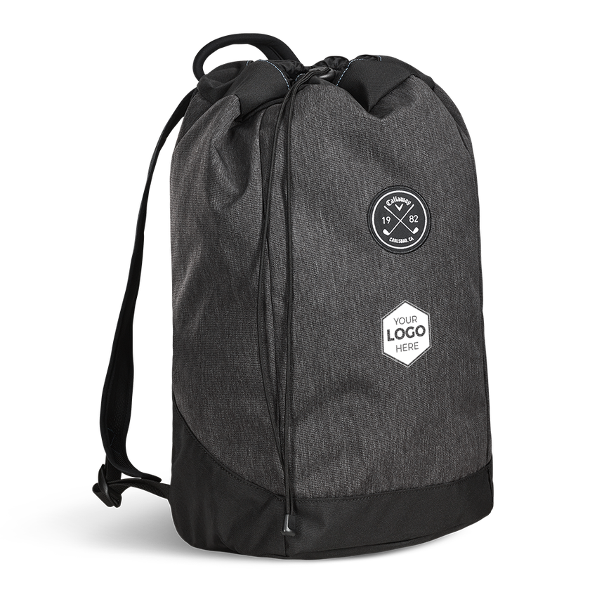 Clubhouse Logo Drawstring Backpack - View 1