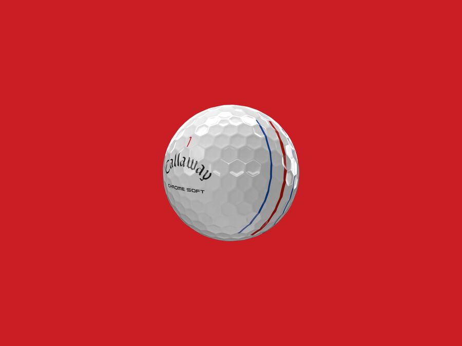 Chrome Soft Triple Track Golf Balls - Featured