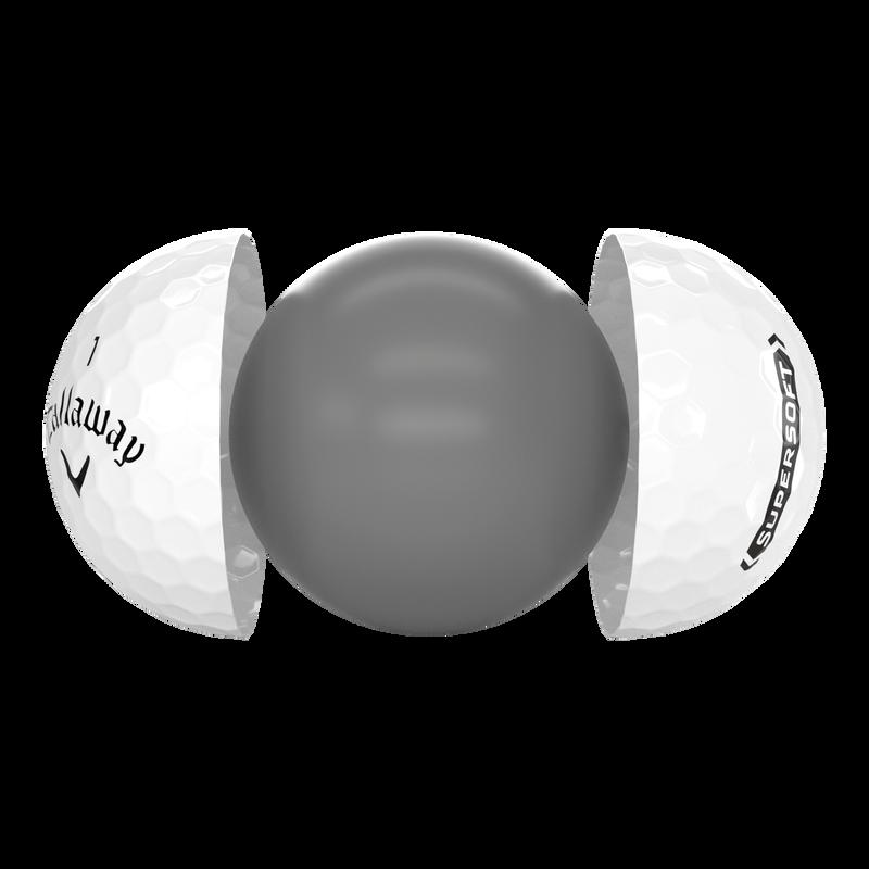 Introducing Callaway Supersoft Golf Ball illustration