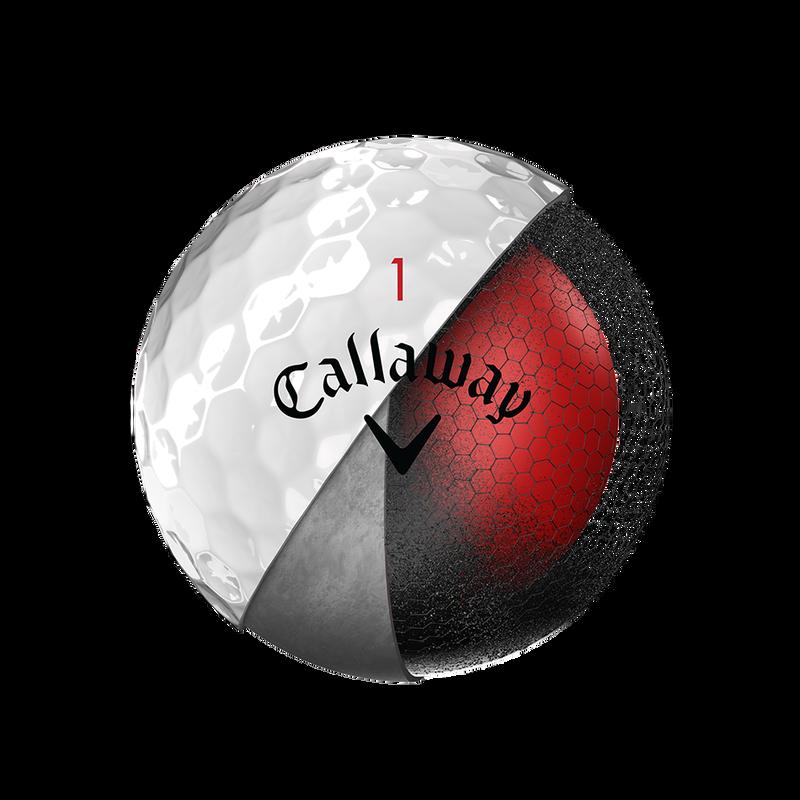 Introducing Chrome Soft Golf Balls illustration