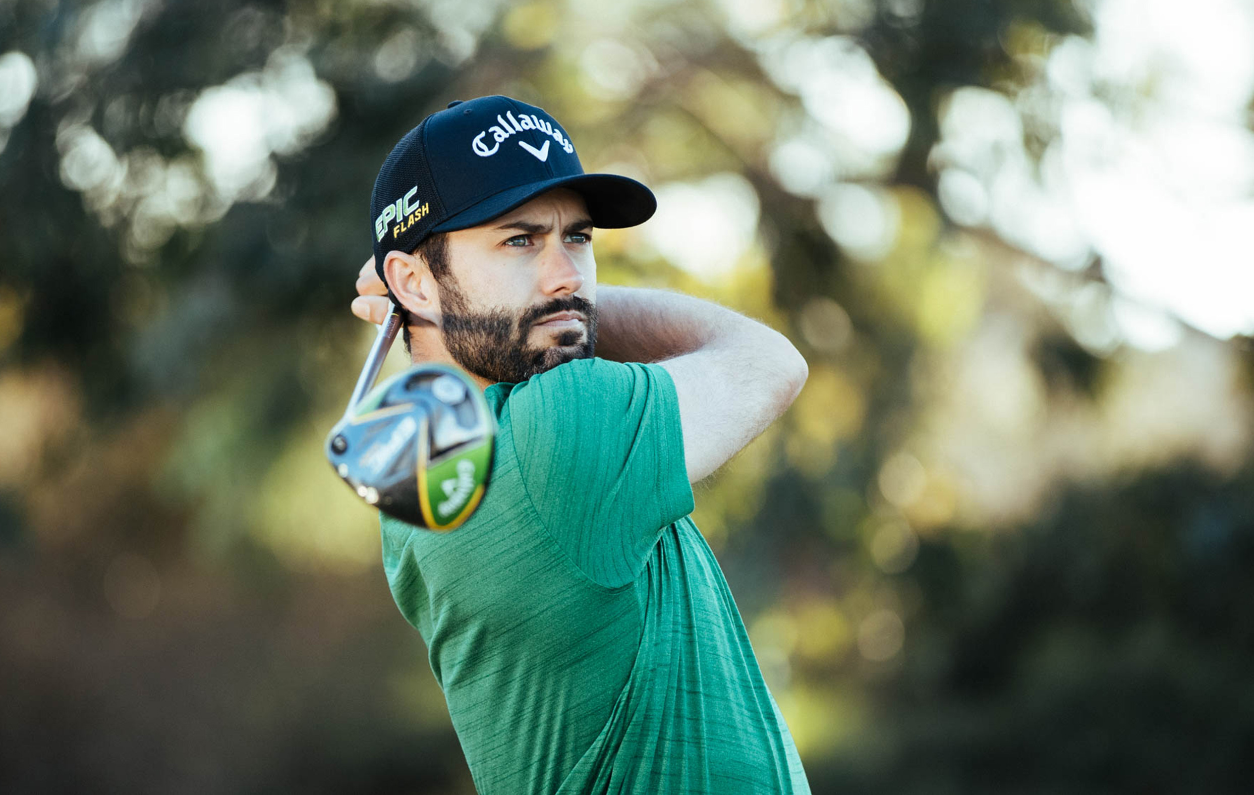 Adam Hadwin Playing Golf
