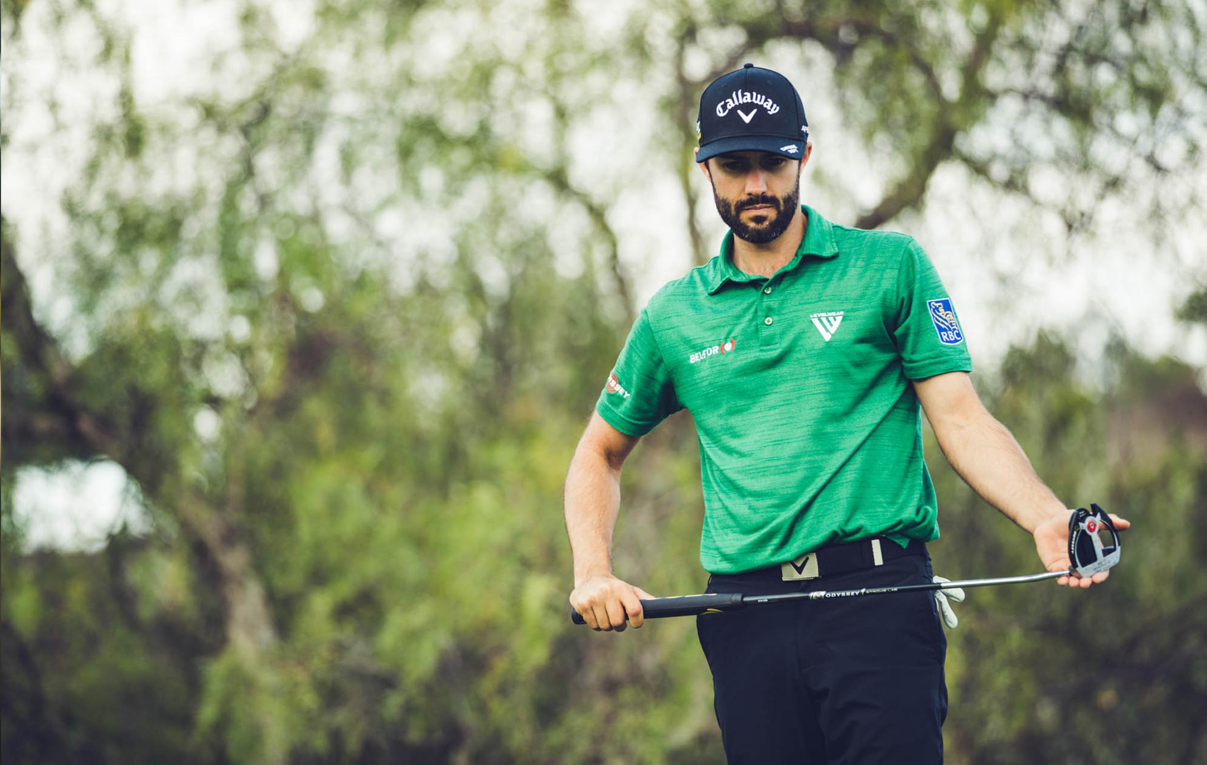 Adam Hadwin Playing Golf