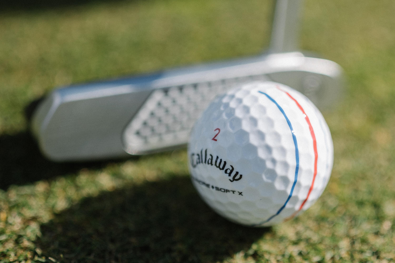 Chrome Soft X with Triple Track Golf Balls