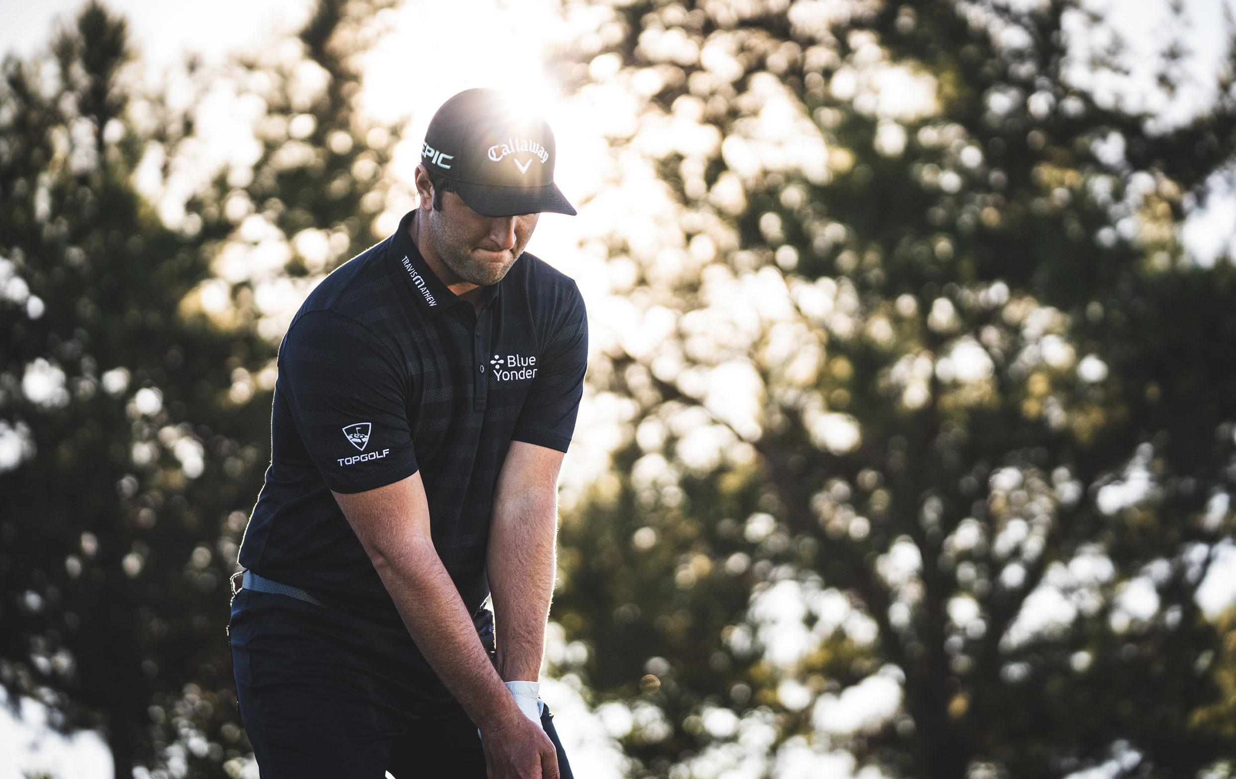 Jon Rahm Playing Golf