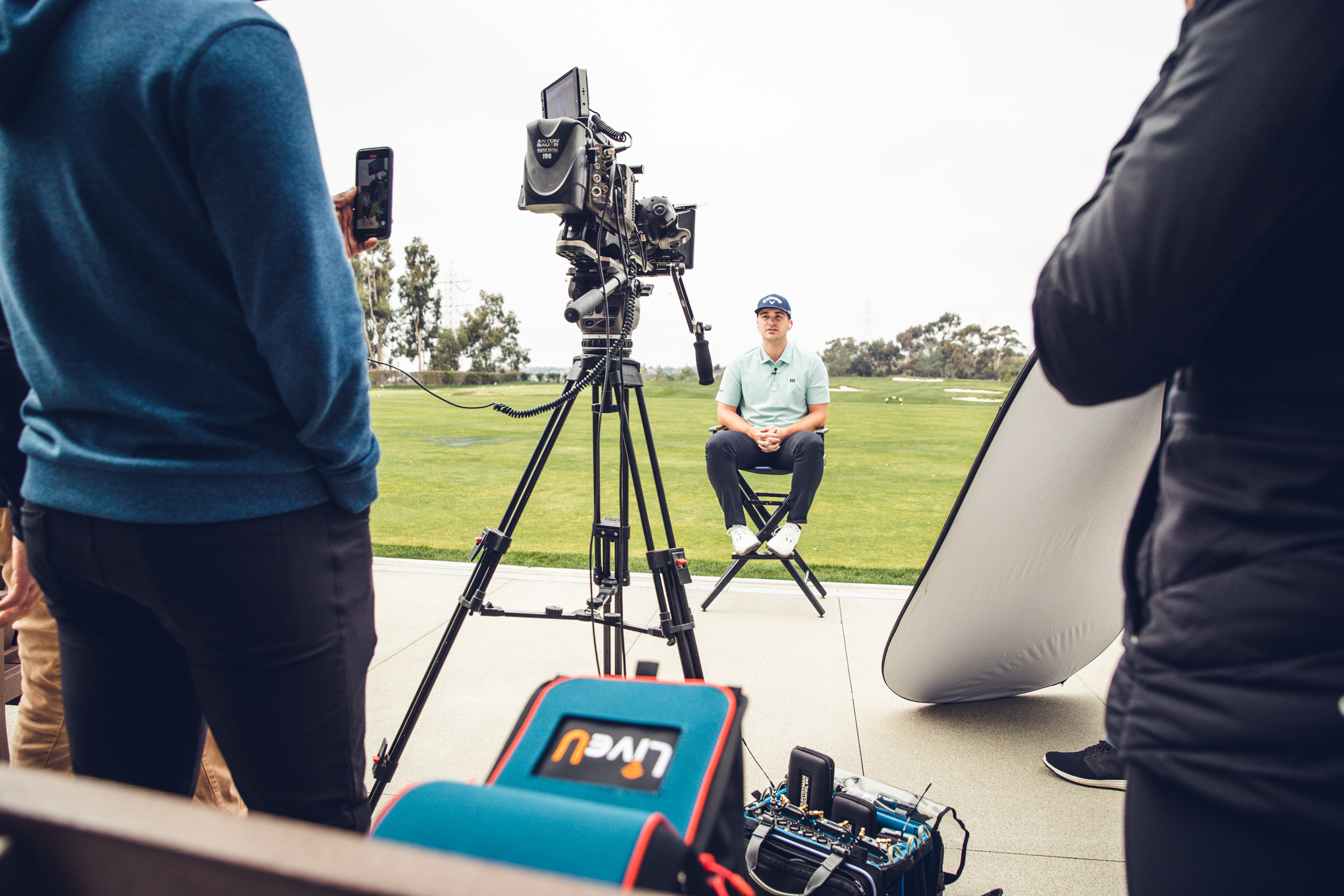 Will Gordon Playing Golf