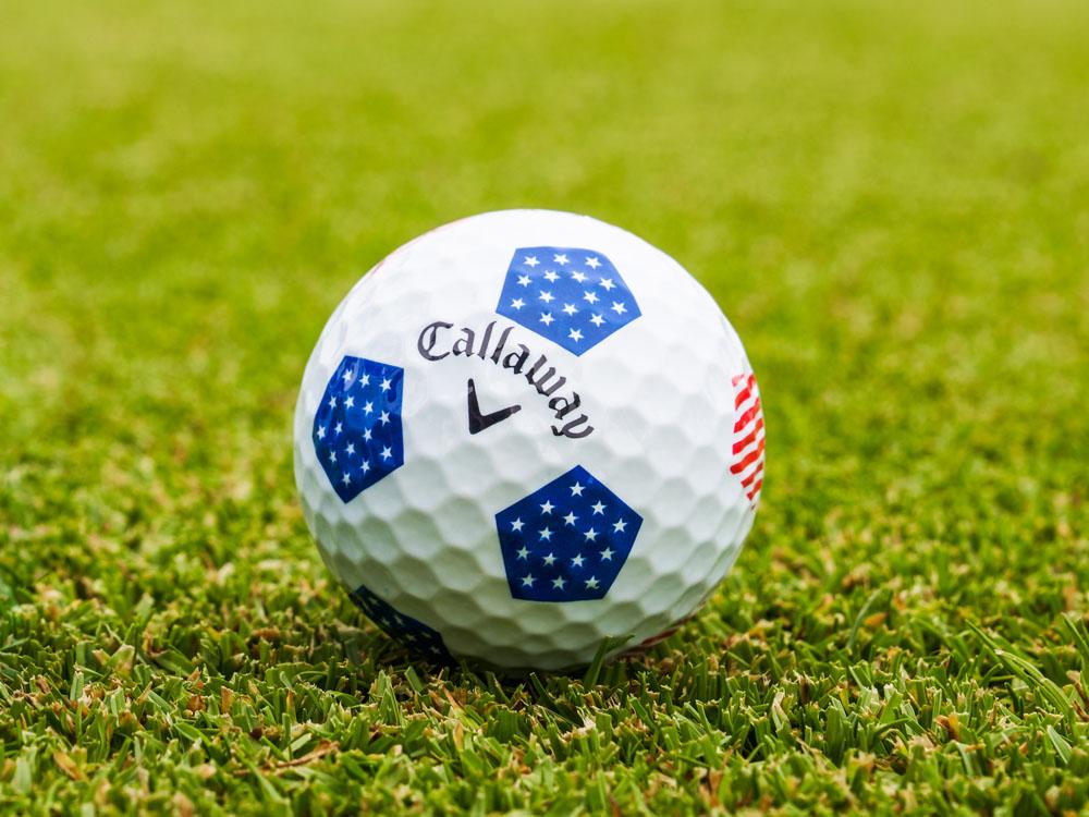 2018 Chrome Soft European Truvis Golf Ball