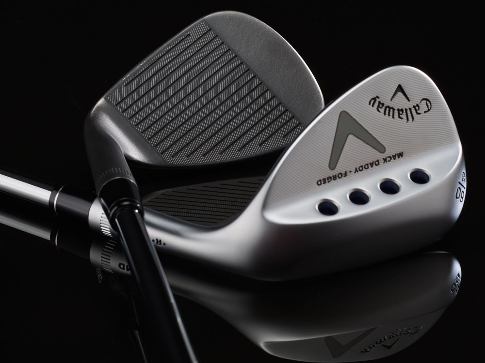 Callaway Mack Daddy Forged Chrome & Slate Wedges