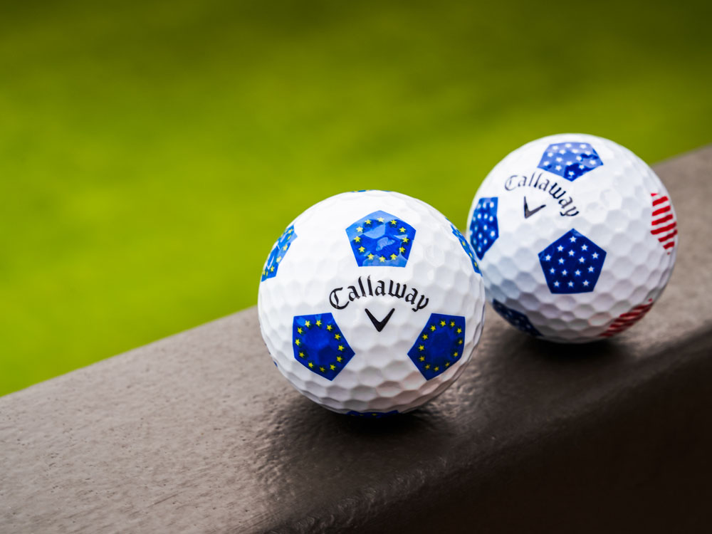 2018 Chrome Soft European Truvis Golf Ball