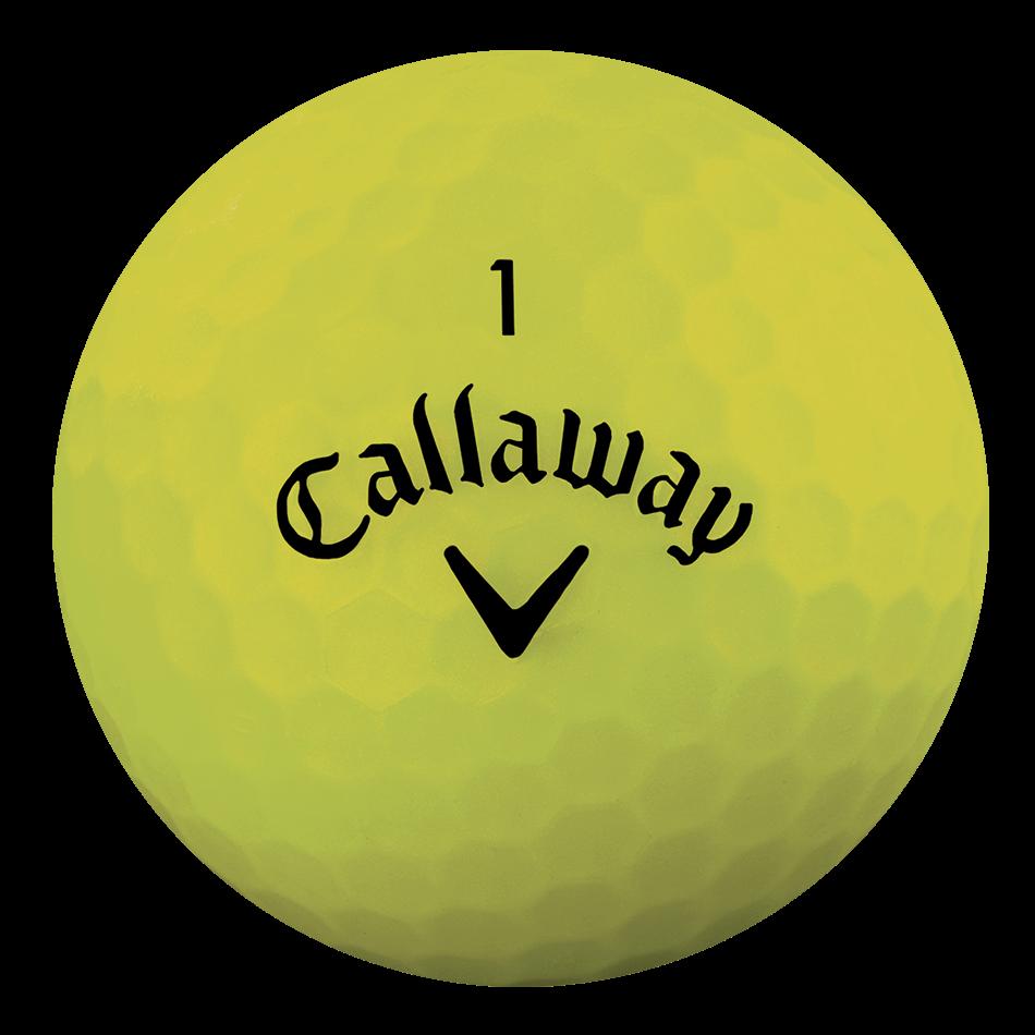 Superhot Bold Matte Yellow 15-Pack Golf Balls Technology Item