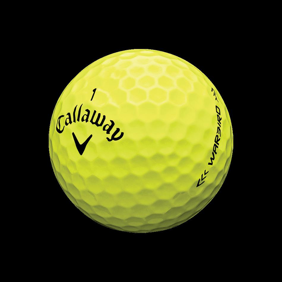 Warbird Yellow Golf Balls Technology Item