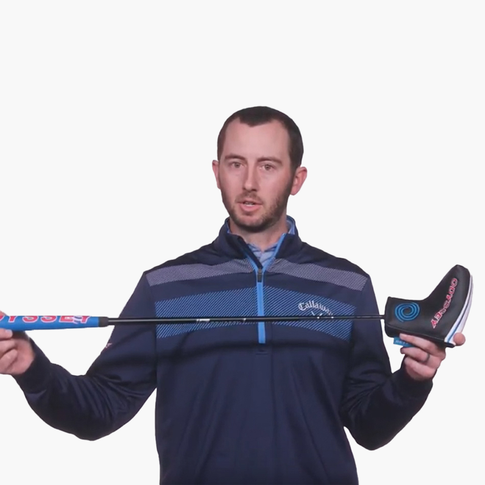 Triple Track 2-Ball Blade Putter - View Video