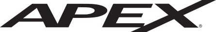 Apex Muscleback Irons Logo