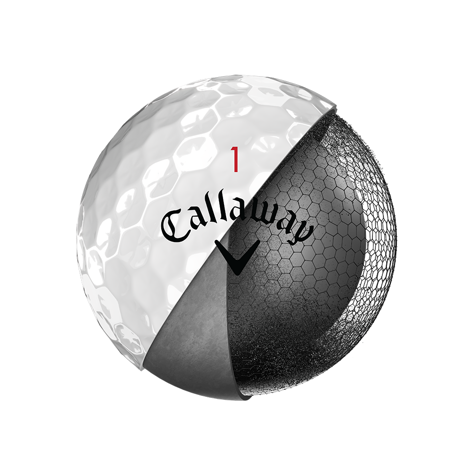 Introducing Chrome Soft X Golf Balls illustration