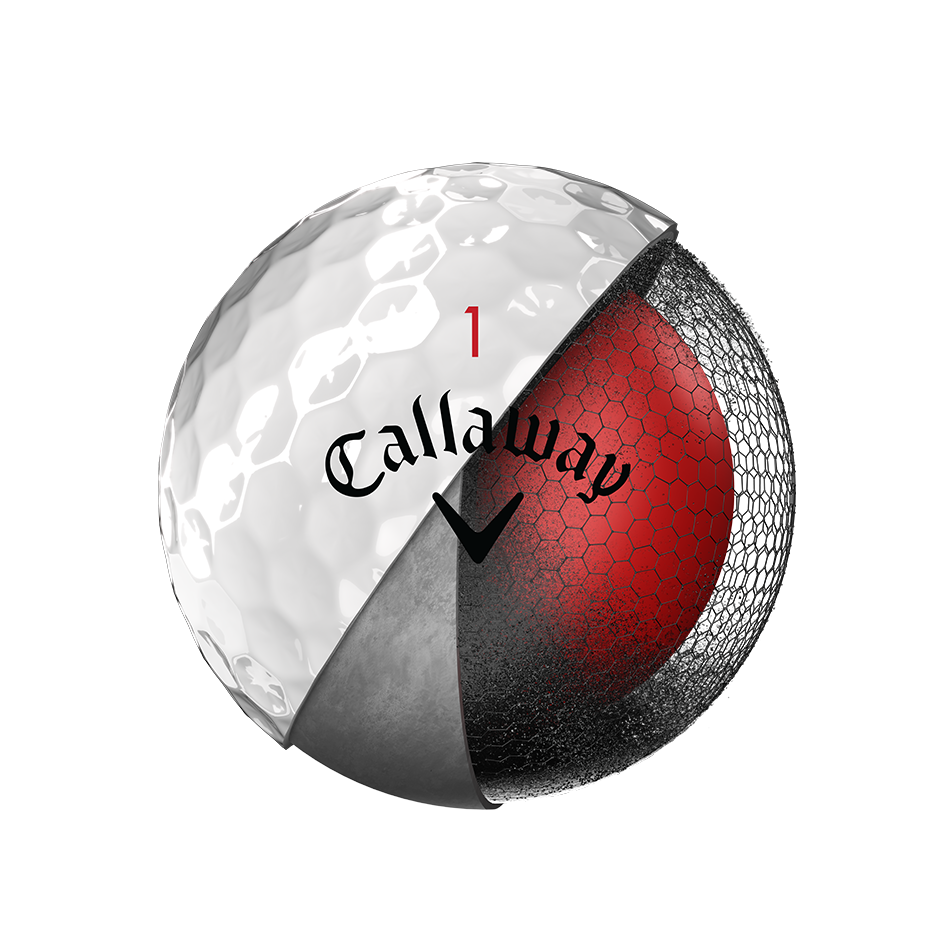 Introducing Chrome Soft Golf Balls illustration