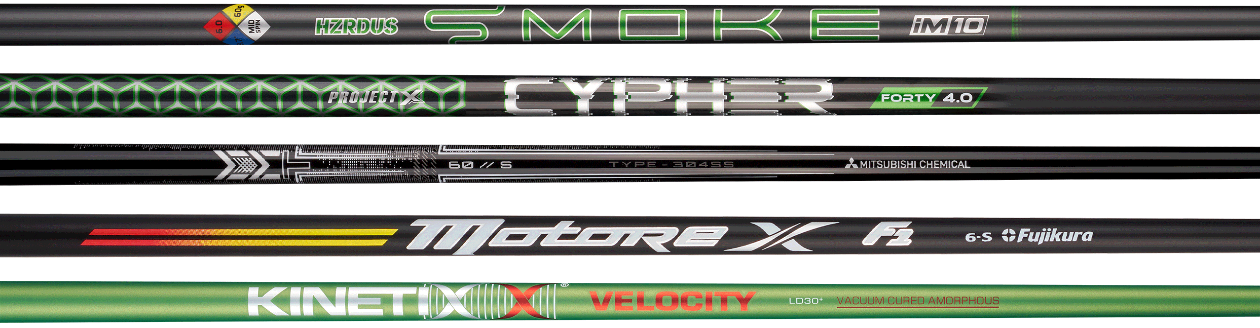 Longer Driver Shaft Options